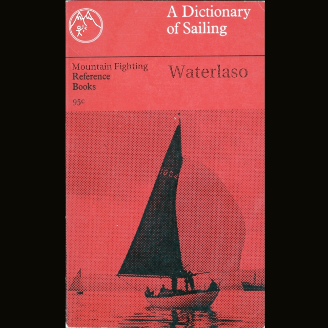 waterlaso - a dictionary of sailing cover